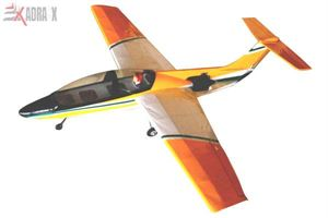 Picture of Duct Fan Propelled Unijet Balsawood RC Airplane ARF Model