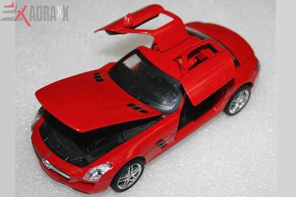 Picture Of Original Licensed Mercedes Benz Sls Amg Cast 1 32 Scalepull Back