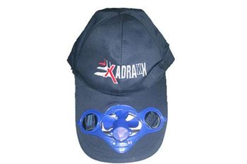 Picture of Navy Sports Cap with Solar Fan For Kids