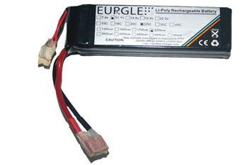 Picture of Eurgle 11.1v 3S1P 25C 2200MAh Li po Battery A Grade