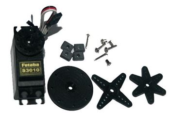 Picture of Futaba S3010 Standard High-Torque BB Servo