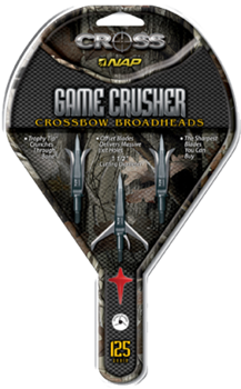 Picture of Game Crusher Crossbow Broadhead-125 set of 3
