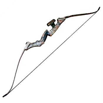 Picture of Professional Camo Recurve Bow 35 Lbs