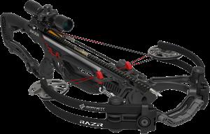 Picture of Barnett Razr Carbon Reverse Compound Bow 400 FPS Carbon Arrows