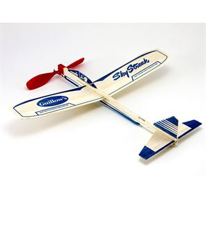 Picture of Guillow's Rubber Powered Balsa Sky Streak Glider