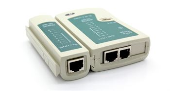 Picture of Adraxx RJ45 And RJ11 Network Cable Tester
