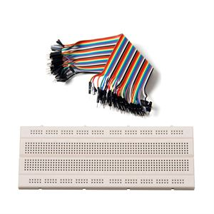 Picture of Combo of Breadboard & Jumper Wire Male to Male
