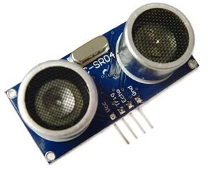 Picture of HC-SR04 Ultrasonic/Sonar Distance Measuring Sensor Module For Arduino