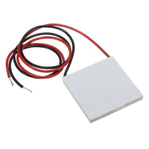 Picture of 12V 6A 72W TEC1-12706 Thermoelectric Cooler Cooling Peltier Plate Module 40x40mm
