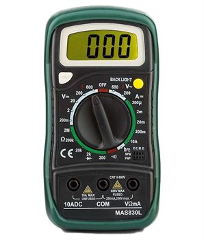 Picture of Mastech Digital Multimeter MAS830L
