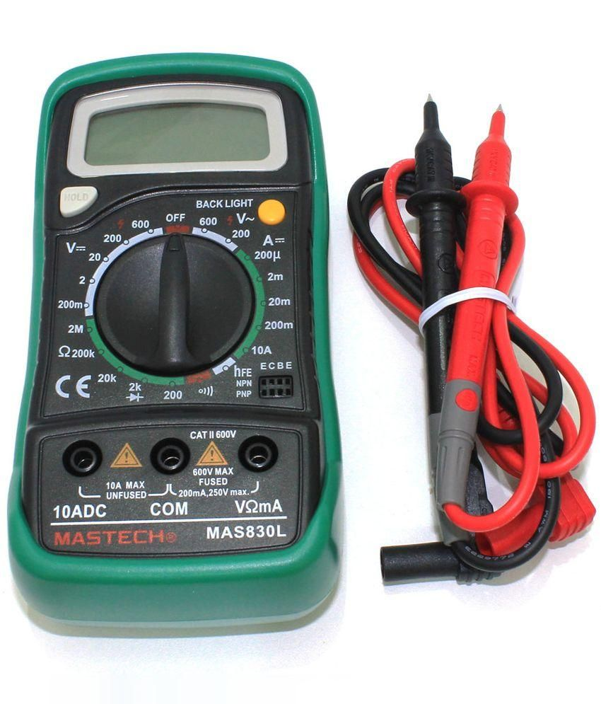 Mastech Digital Multimeter Mas830l Hobby And You Electrical Wire Tester Ebay Picture Of