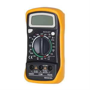 Picture of Digital Multimeter MAS830L Blue Backlight & Hold Button