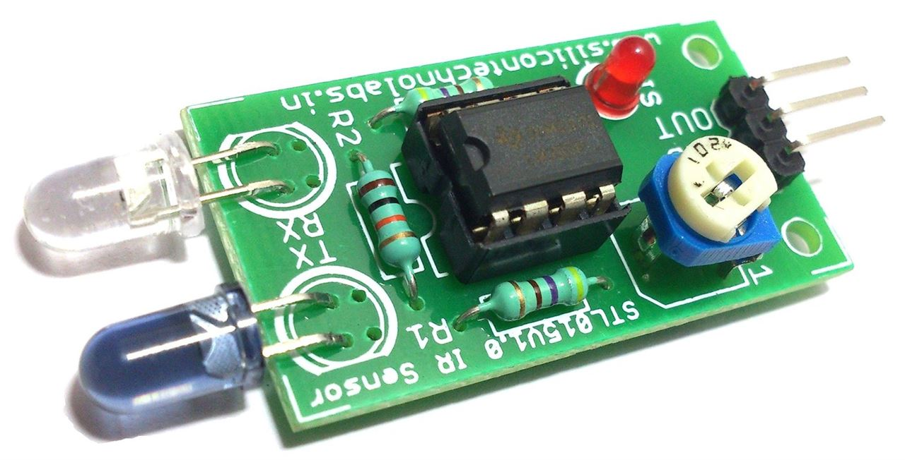 Ir Proximity Sensor For Line Follower Hobby And You The Its Circuitry Picture Of