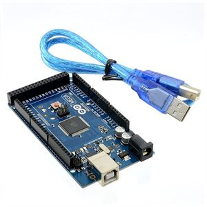 Picture of Arduino Mega 2560 r3 MicrController Board Based ATmega2560 With USB Cable