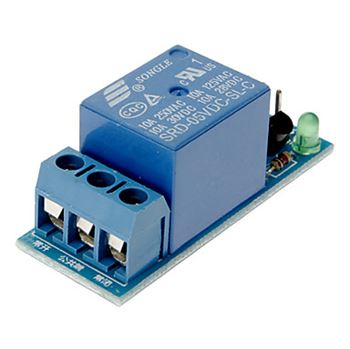 Picture of 1 Channel Relay Board Module Controllable with 5V or 3.3V Signal For Raspberry Pi, Arduino, AVR, PIC …