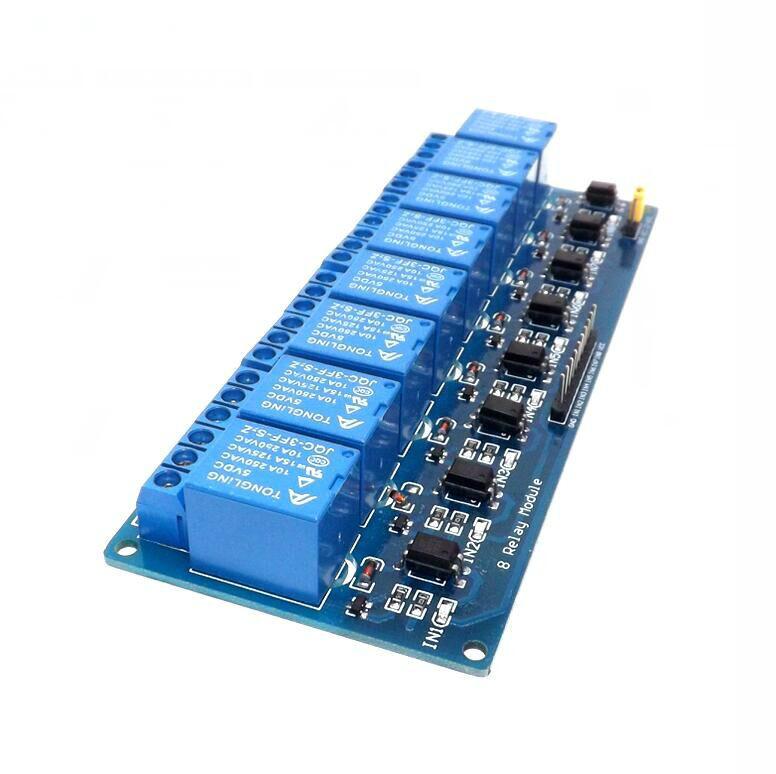 8 channel relay board pdf