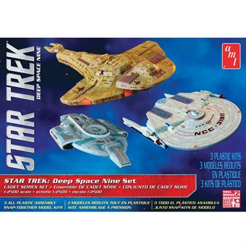 Picture of AMT USA 1/2500 Scale Star Trek: Deep Space 9 Set Plastic Model Kit