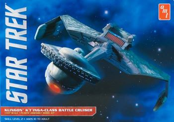Picture of AMT 1/537 Star Trek Klingon K'tings