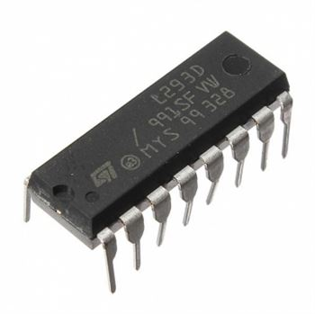 Picture of Adraxx L293D Motor Driver IC(H-Bridge) Set of 2