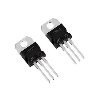Picture of Adraxx Set of 2 Pcs 1.2-37V 1.5A Positive LM317T Voltage Regulator