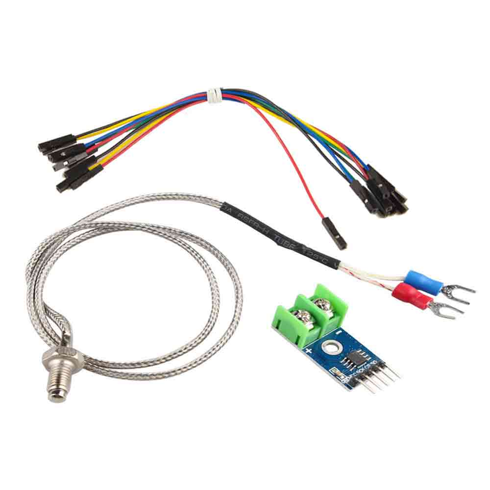 MAX6675 Module and K Type Thermocouple Sensor for Arduino