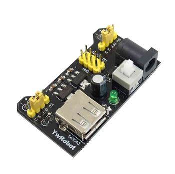 Picture of Adraxx 3.3V and 5V Power Supply Module for MB102 Bread Board