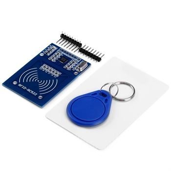 Picture of Adraxx RFID Module with free S50 card, key chain MFRC522 for Arduino